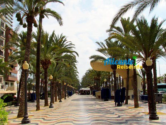 Top Sehenswürdigkeit Alicantes: die Explanada