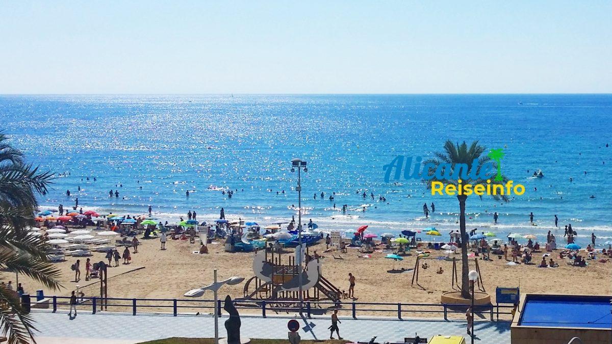 El Postiguet – der Stadtstrand von Alicante