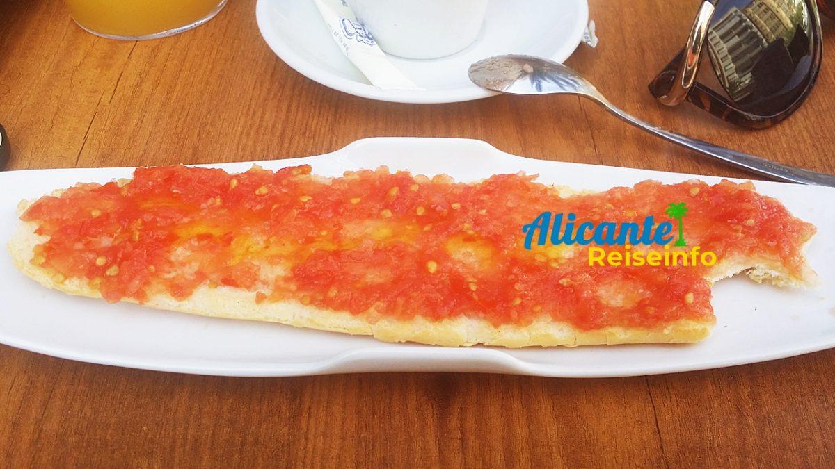Das Frühstück in Spanien