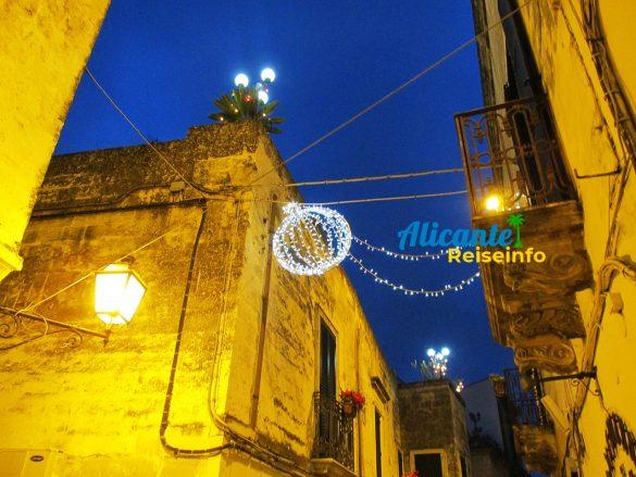 Alicante Urlaub zu Weihnachten