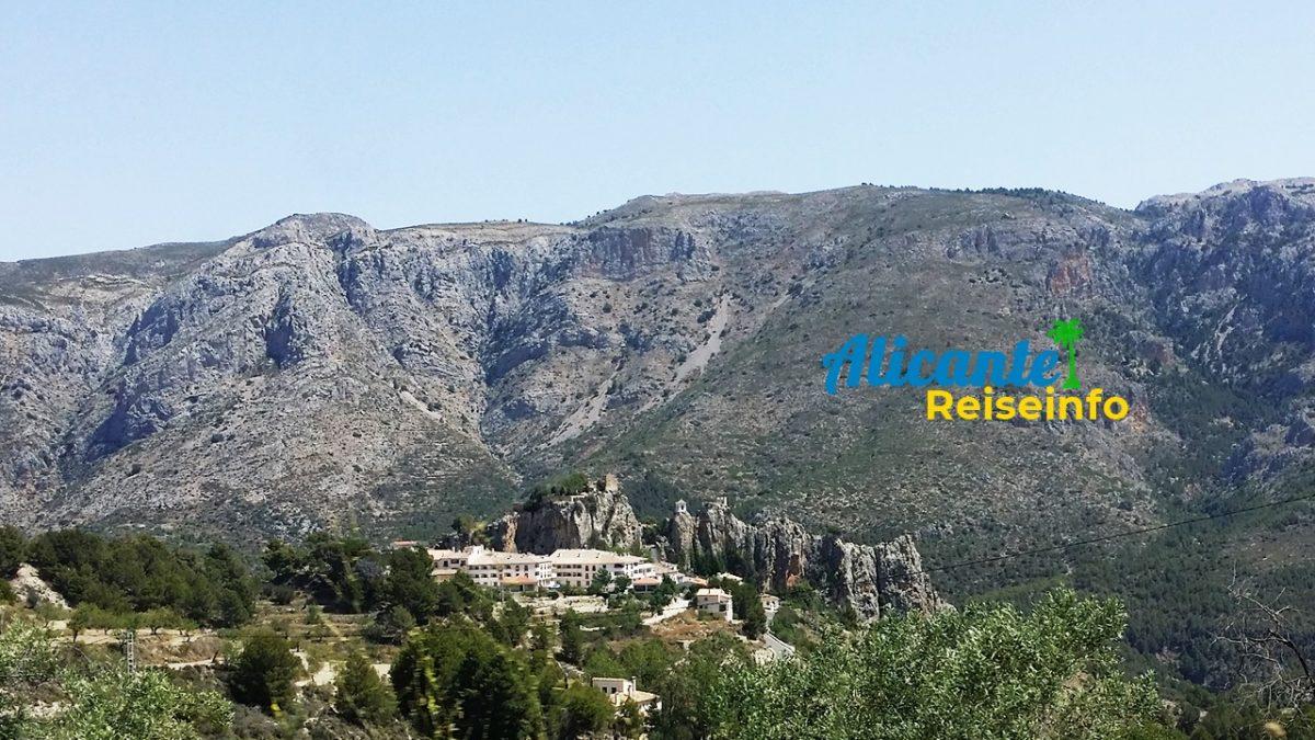 Ferienwohnungen in Guadalest und Umgebung